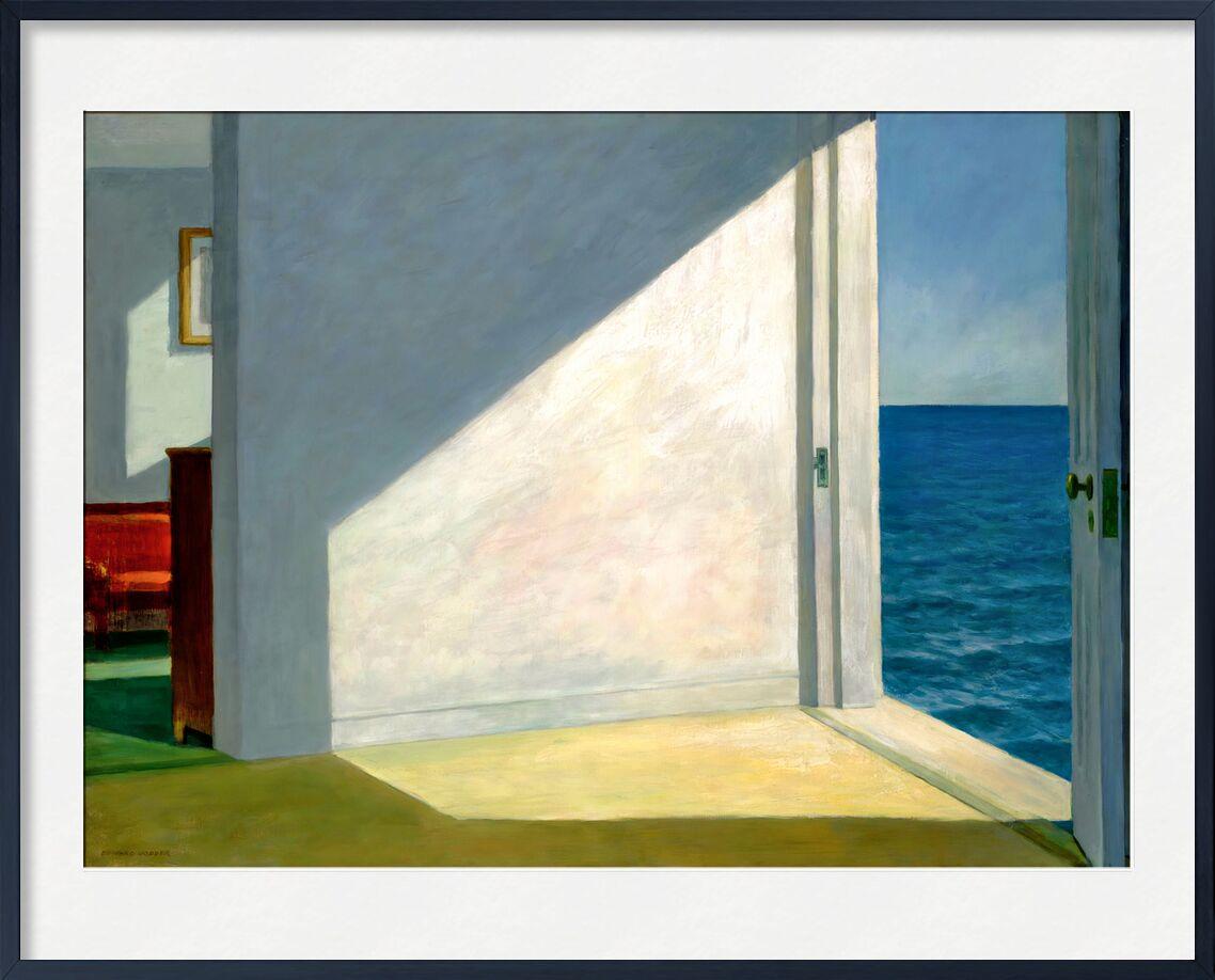 Zimmer am Meer - Edward Hopper von AUX BEAUX-ARTS, Prodi Art, Meer, Strand, Sonne, Sommer-, Himmel, Ferien, Eward Hopper