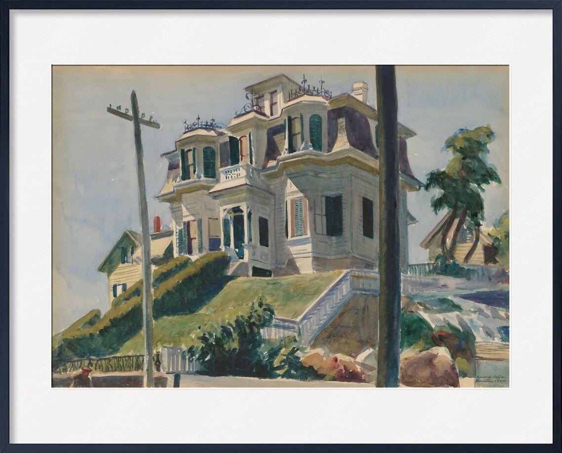 Haskell's Haus - Edward Hopper von AUX BEAUX-ARTS, Prodi Art, Edward Hopper, Haus, Haus, Amerika, painture