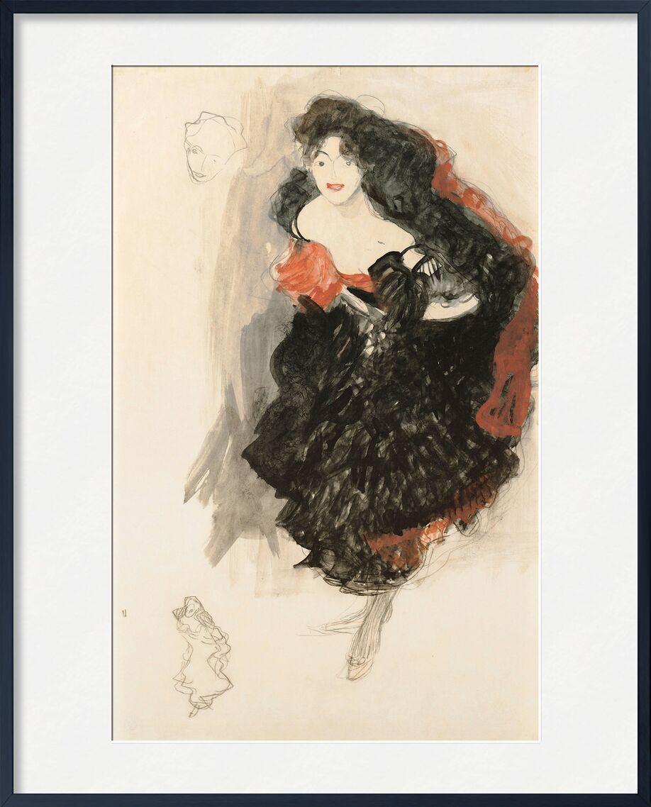 Study for Judith II - Gustav Klimt from AUX BEAUX-ARTS, Prodi Art, KLIMT, study, painting, portrait, pencil drawing