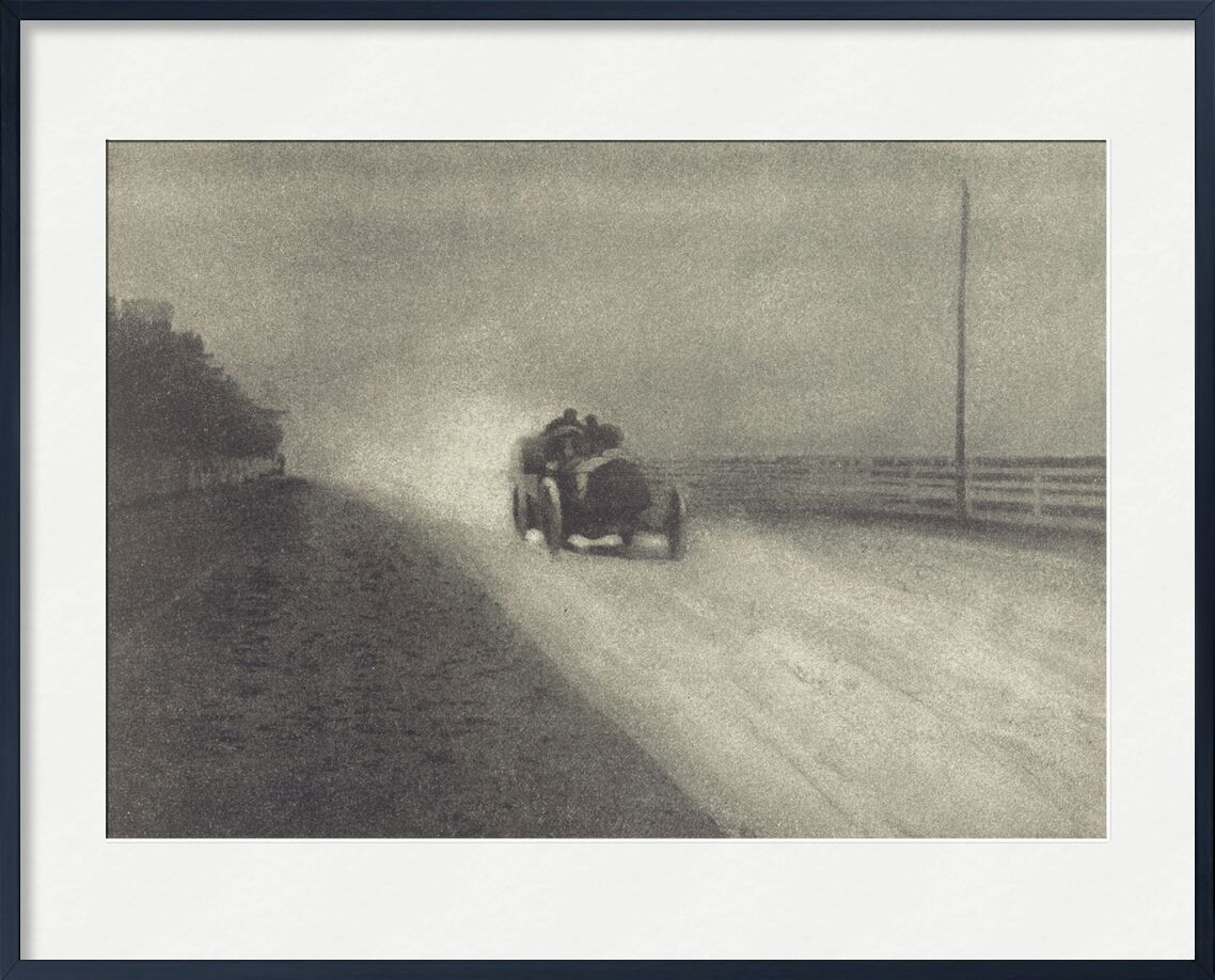 Camera Work Number 7 - 1904 - Edward Steichen from AUX BEAUX-ARTS, Prodi Art, car, black-and-white, photo eve, Steichen
