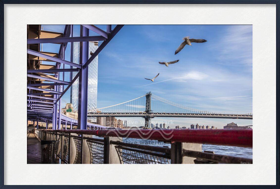 Pont de Manhattan de Caro Li, Prodi Art, NY, Pont de Manhattan, Photographie, pont, la photographie, USA, états-unis, New York