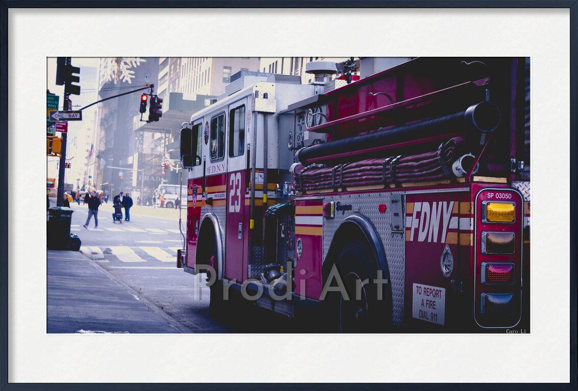 Fire Truck from Caro Li, Prodi Art, New-York, NY, USA, United States, Dear Li, Photography, photography