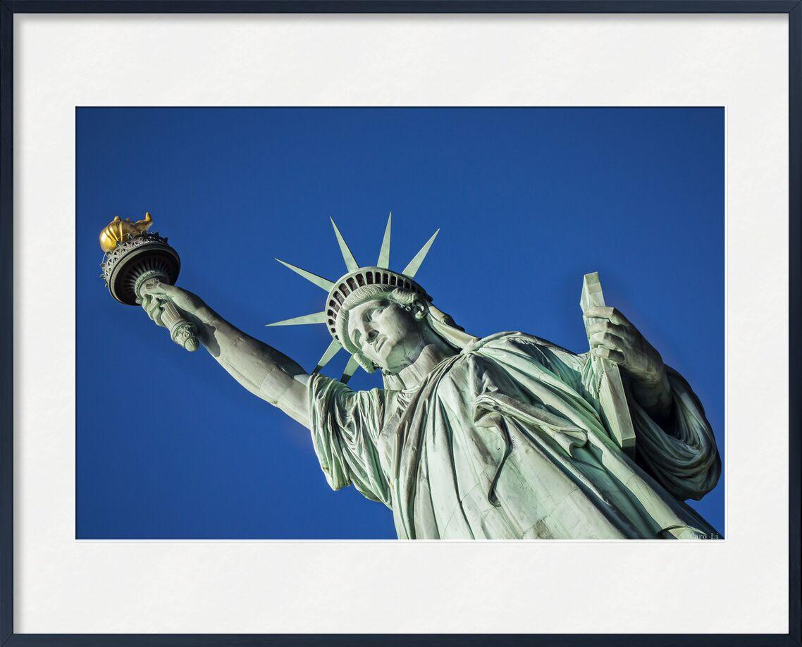 Statut of Liberty from Caro Li, Prodi Art, New-York, NY, United States, USA, Photography, photography, Dear Li, Statue of Liberty, statut of liberty