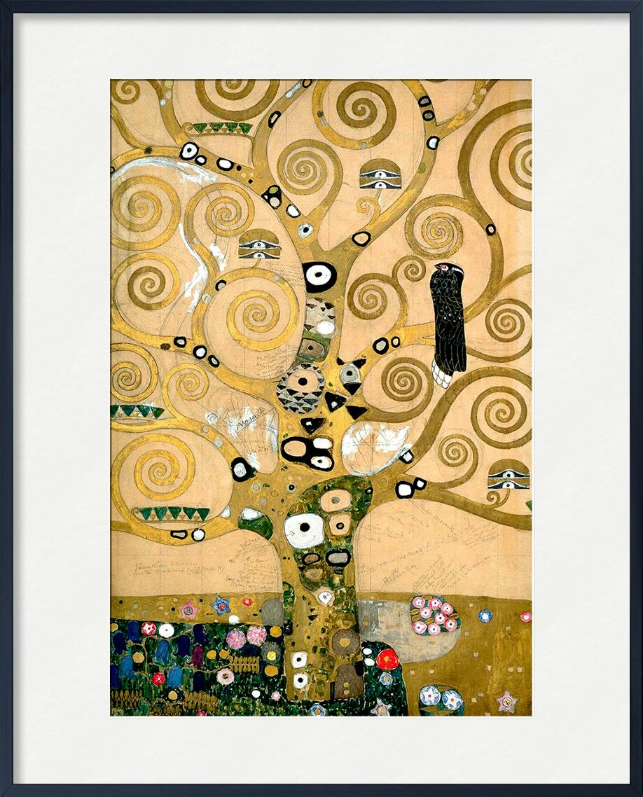 The tree of Life, The Arborvitae - Gustav Klimt from AUX BEAUX-ARTS, Prodi Art, tree, painting, Art Nouveau, tree of Life