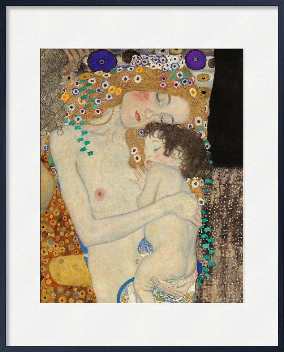 Details of The Three Ages of Woman - Gustav Klimt from AUX BEAUX-ARTS, Prodi Art, woman, child, age, grow, painting, Art Nouveau, KLIMT