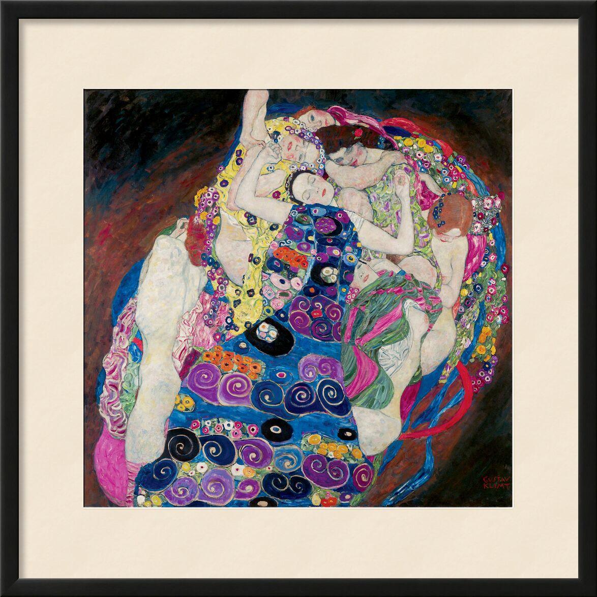 The Virgin - Gustav Klimt from AUX BEAUX-ARTS, Prodi Art, Art Nouveau, painting, women, face, Virgin