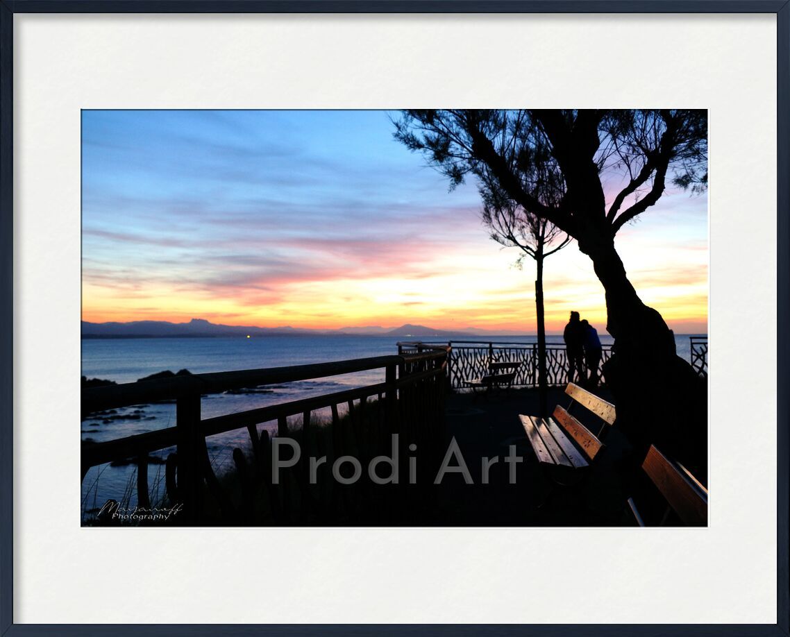 Sunset... from Mayanoff Photography, Prodi Art, tree, Pays Basque, mountains, ocean, sunset, sunset, ocean, mountain, tree, nature, landscape, landscape, promontory, Basque Country, promontory