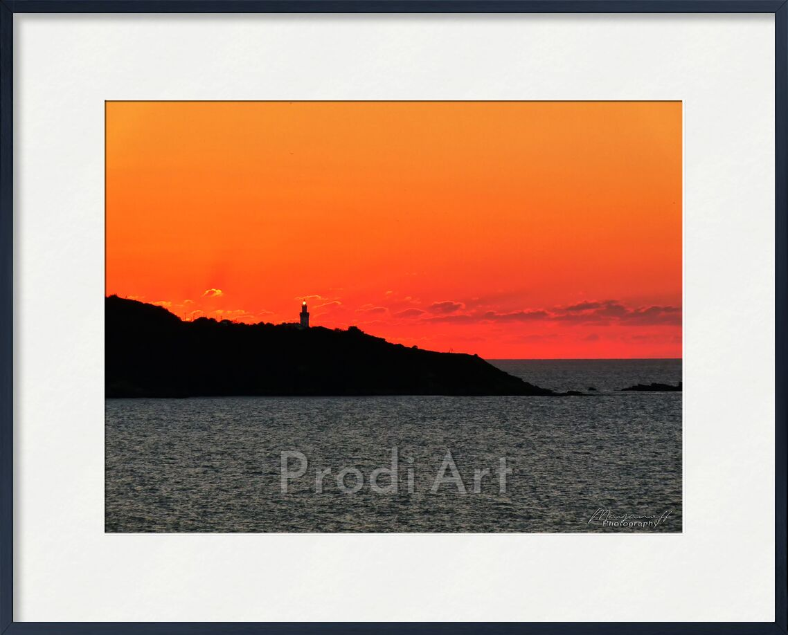 Illumination from Mayanoff Photography, Prodi Art, nature, beauty, headlight, ocean, summer, sunset, lighthouse, basque coast, warm colors, Basque coast, country, water, sky, contrast, beauty, ocean, summer, warm colours, sunset, lands, water, sky, contrast