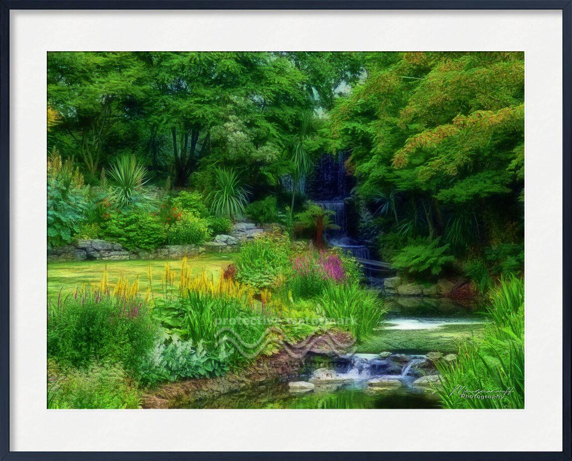 Jardin d'Eden de Mayanoff Photography, Prodi Art, peinture, fractalius, jardin, parc, nature, vert, Cascade, fleurs, ruisseau, peinture, jardin, parc, vert, cascade, fleurs, courant
