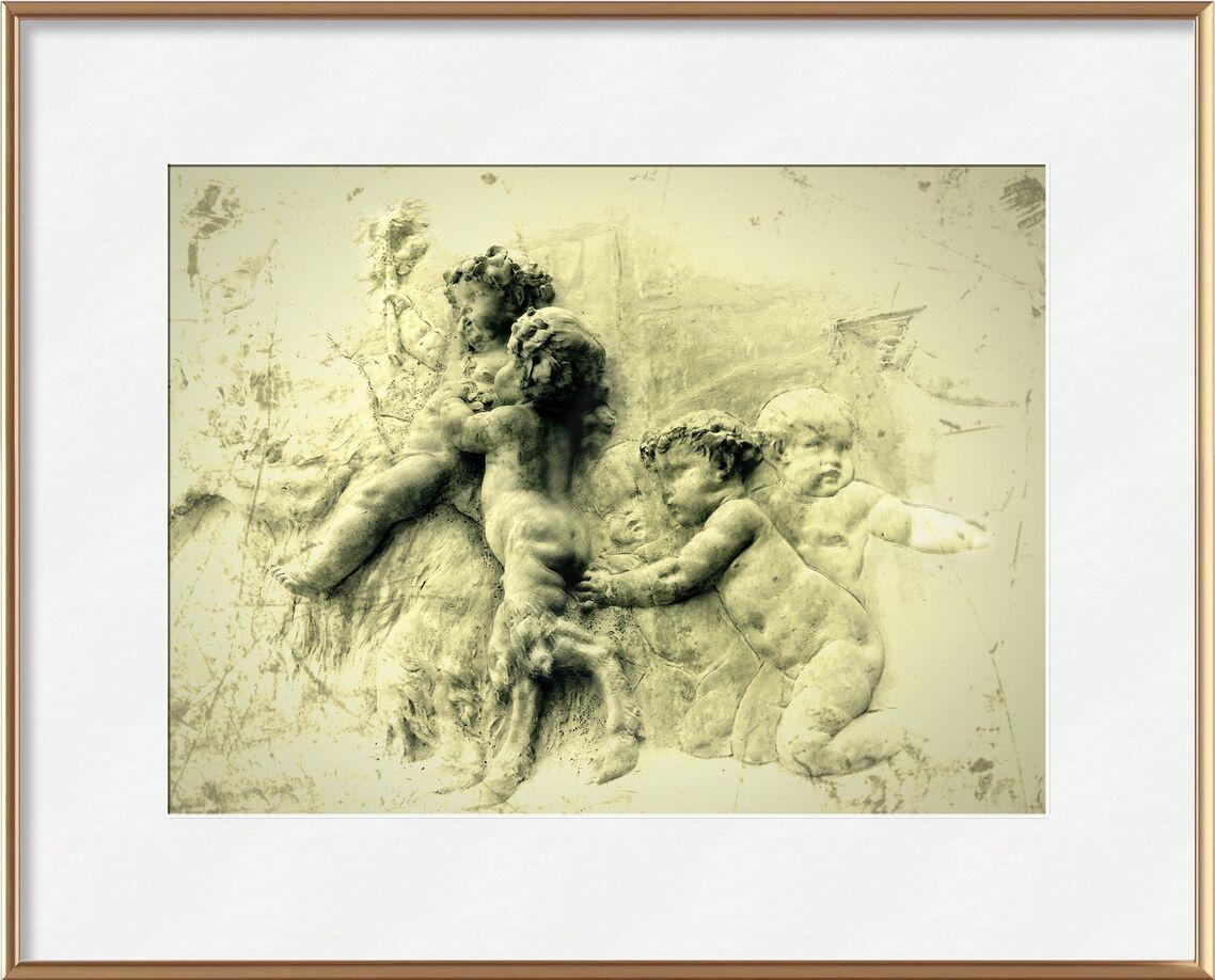 La flamme de Adam da Silva, Prodi Art, enfant, bébé, peinture, art numérique, nourrissons