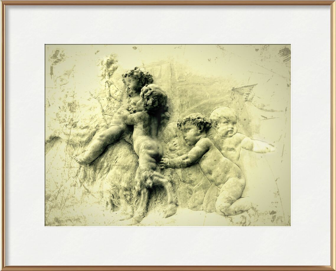 The flame from Adam da Silva, Prodi Art, child, baby, painting, digital art, infants
