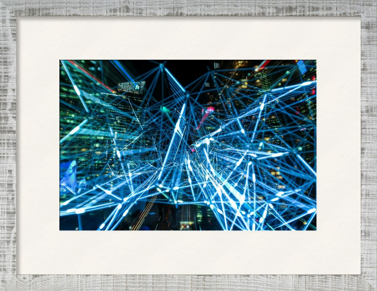 Technologie abstraite de Pierre Gaultier, Prodi Art, abstrait, art, brouiller, brillant, Couleur, foncé, décoration, conception, effet, éclater, flash, concentrer, futuriste, J'allume, lumière, ligne, moderne, mouvement, nuit, en plein air, forme, La technologie