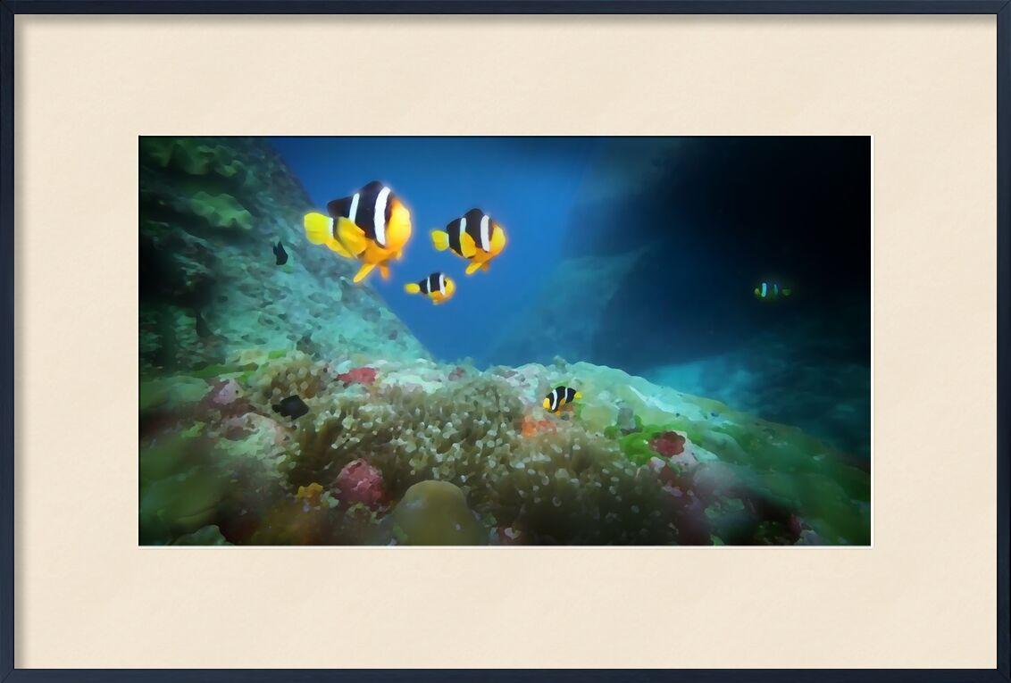 Le monde d'en bas de Adam da Silva, Prodi Art, poissons, océan, mer, profondeur, eaux