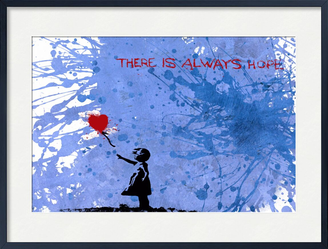 128 Balloon Girl - BANKSY desde AUX BEAUX-ARTS, Prodi Art, globos, niña, arte callejero, Banksy