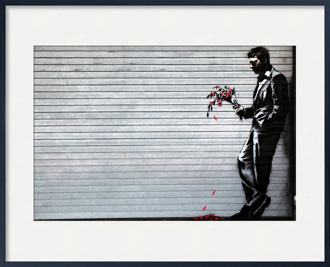 Hustler Club - BANKSY from AUX BEAUX-ARTS, Prodi Art, banksy, street art, night club, evening, match, flowers, night drink