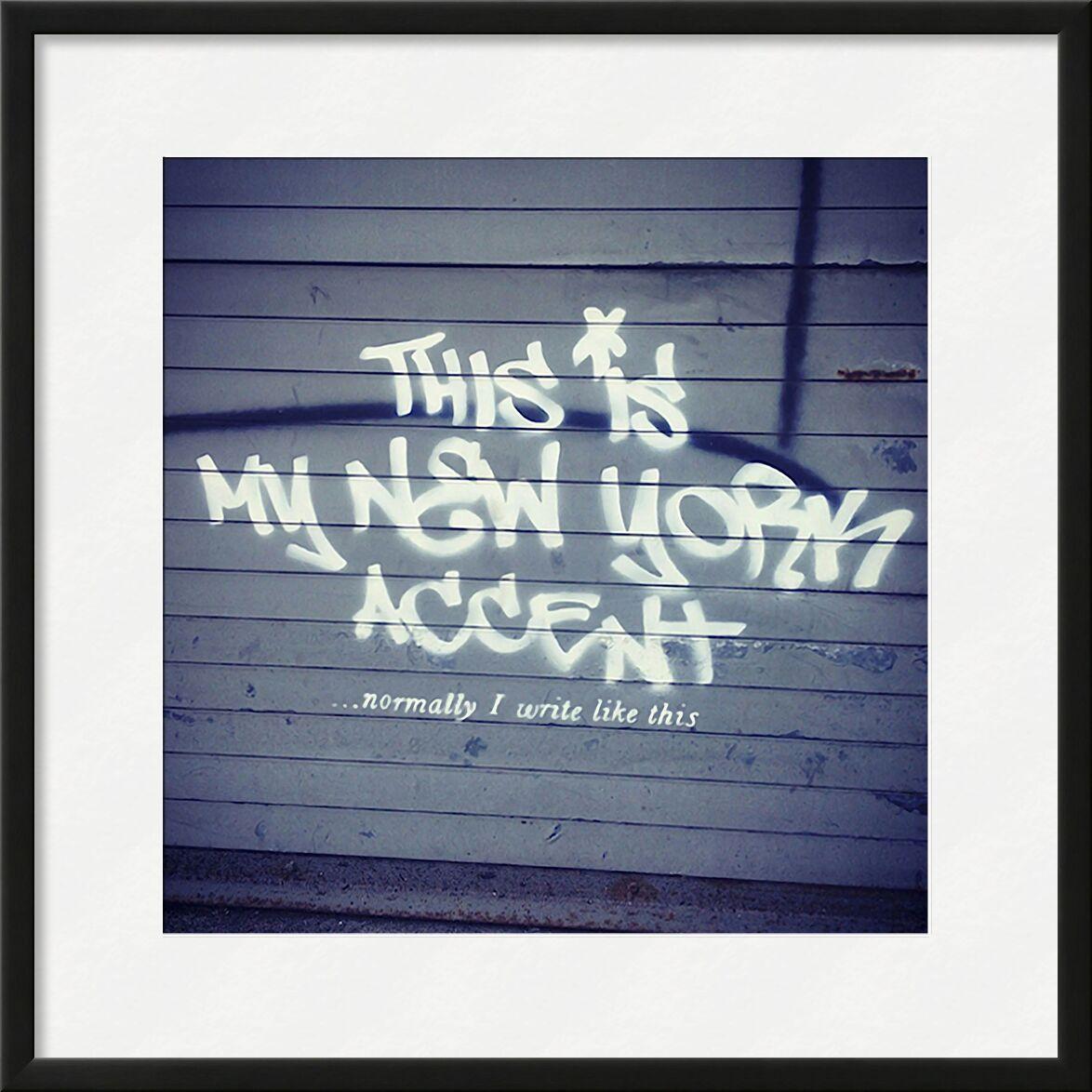 My New York Min - BANKSY from AUX BEAUX-ARTS, Prodi Art, banksy, New-York, street art, accent, min