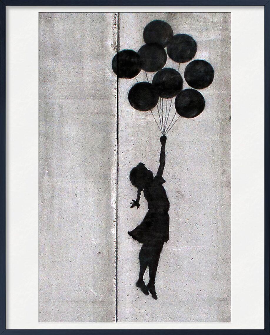 Balloon Girl - BANKSY from AUX BEAUX-ARTS, Prodi Art, banksy, street art, girl, balloon, graffiti