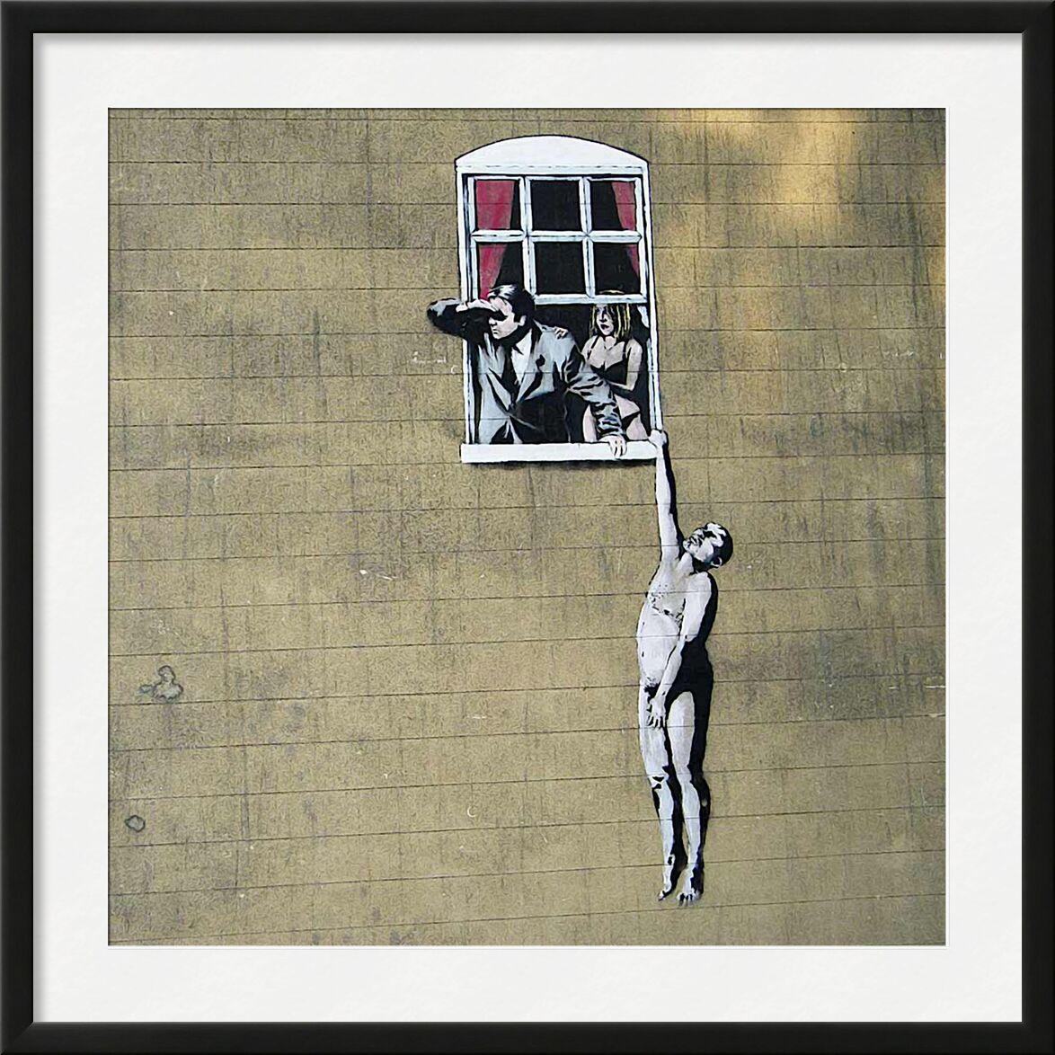 Scandal - BANKSY desde AUX BEAUX-ARTS, Prodi Art, Banksy, arte callejero, escándalo, infidelidad