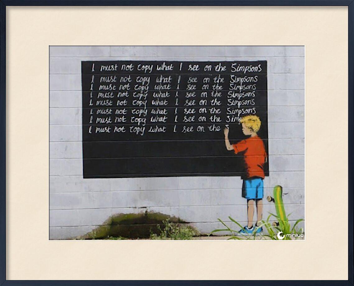 Simpsons - BANKSY from AUX BEAUX-ARTS, Prodi Art, banksy, street art, school, simpsons, punishment