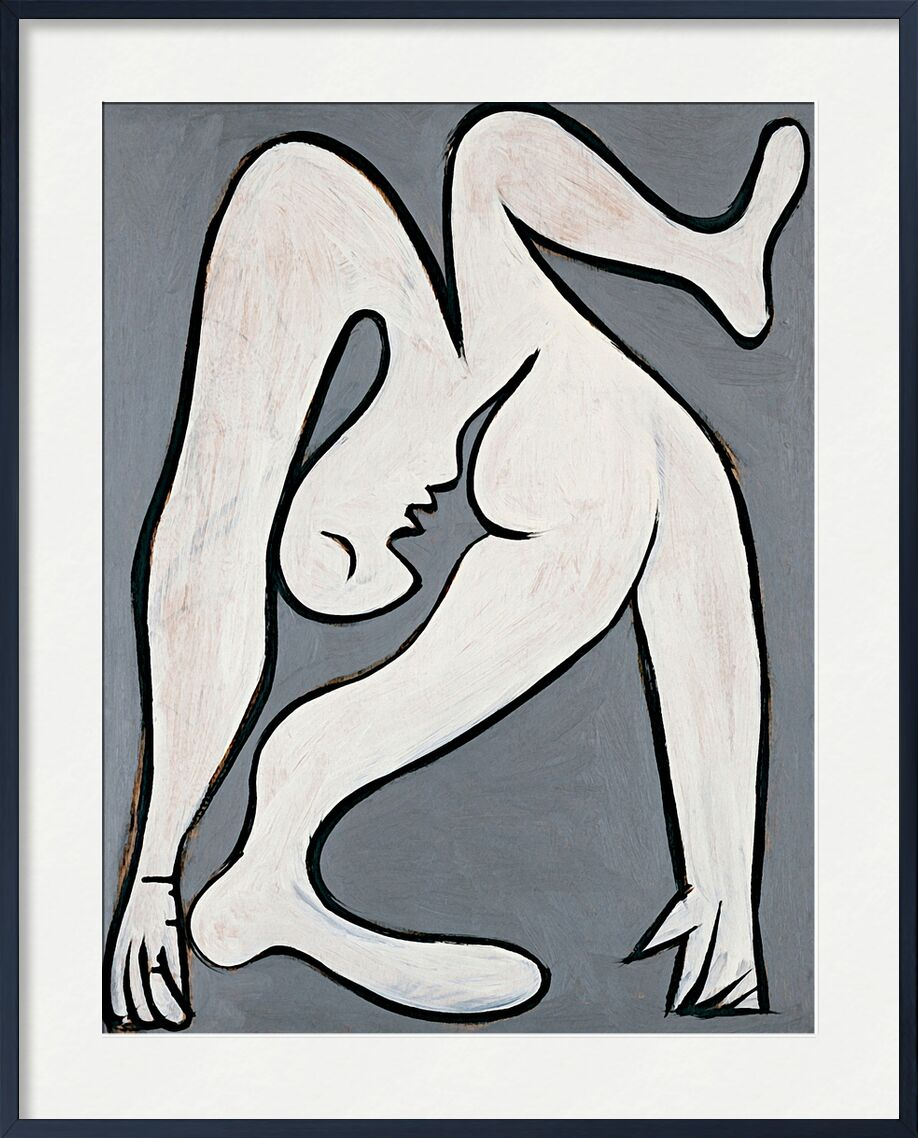 The Acrobat - Picasso from AUX BEAUX-ARTS, Prodi Art, picasso, painting, drawing, Acrobat