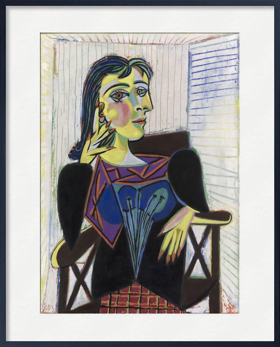 Portrait of Dora Maar - Picasso from AUX BEAUX-ARTS, Prodi Art, picasso, painting, portrait