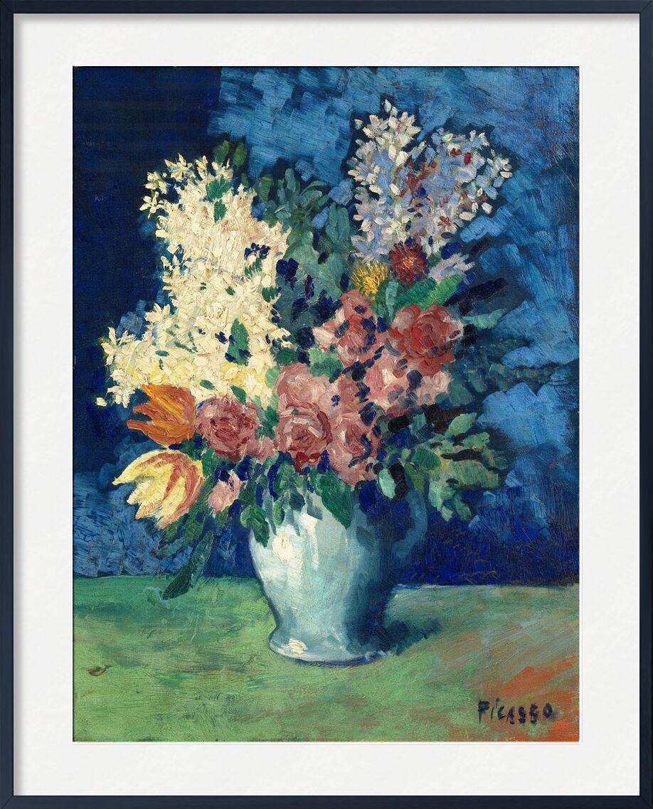 Flowers 1901 - Picasso desde AUX BEAUX-ARTS, Prodi Art, picasso, flores, pintura