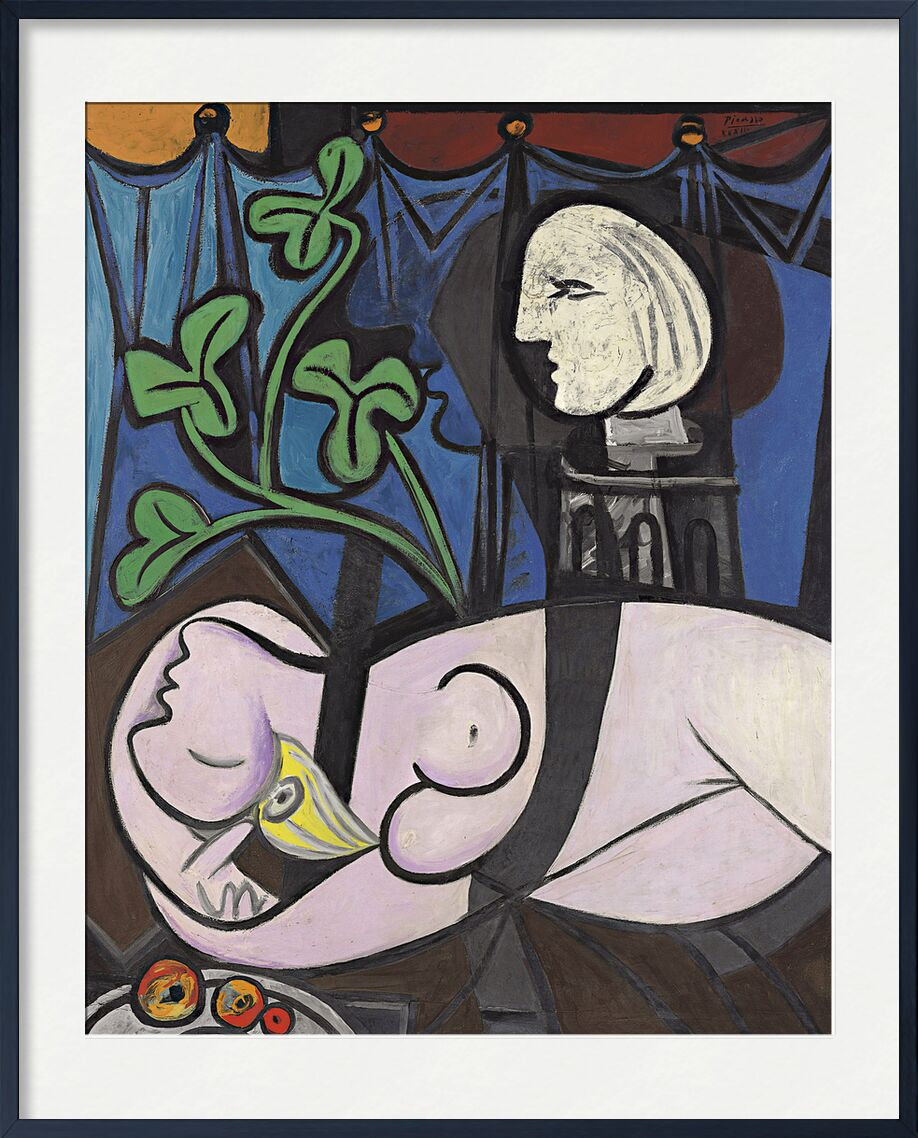 Nude, Green Leaves and Bust - Picasso desde AUX BEAUX-ARTS, Prodi Art, desnudo, picasso, pintura, abstracto, retrato, mujer