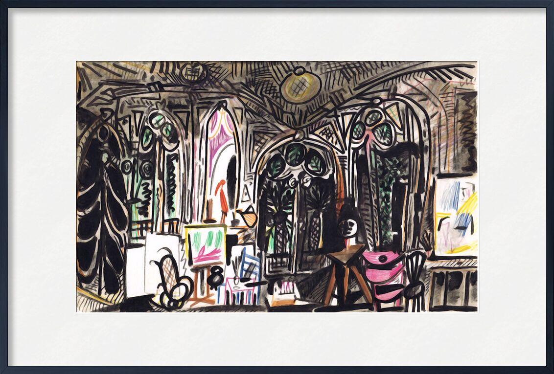 California Notebook 01 - Picasso desde AUX BEAUX-ARTS, Prodi Art, picasso, cuaderno, pintura, abstracto