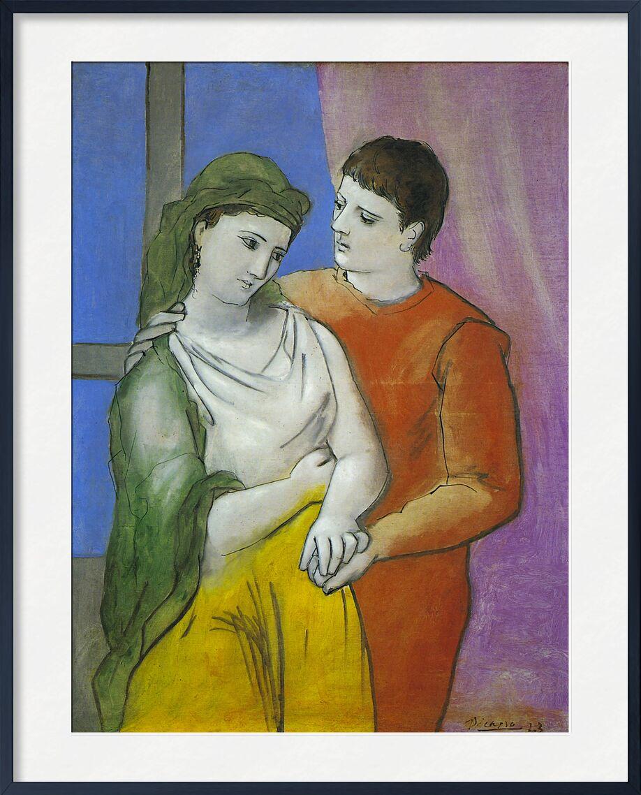 The Lovers - Picasso von AUX BEAUX-ARTS, Prodi Art, Picasso, Liebe, Zeichnung, Malerei, Liebhaber