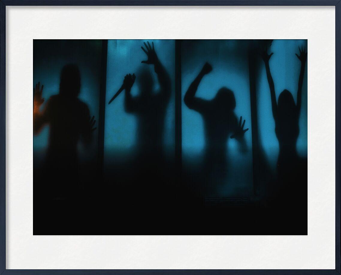 Sauve qui peut ! de Céline Pivoine Eyes, Prodi Art, Personnage, ombre, silhouette, Jeu d'évasion