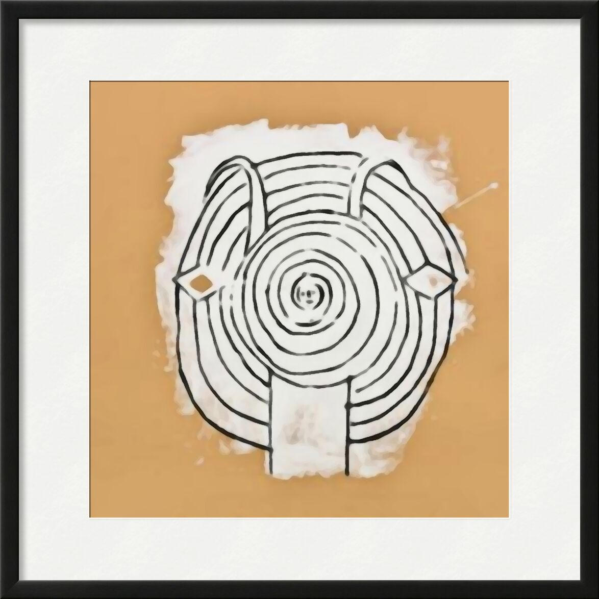 Head of Fauna in Grey - Picasso desde AUX BEAUX-ARTS, Prodi Art, picasso, dibujo, dibujo a lápiz, abstracto, fauna silvestre