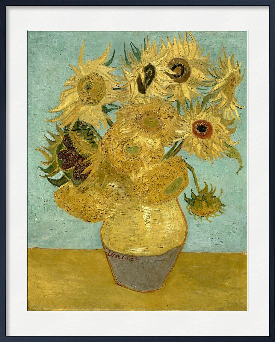 Sunflowers - Van Gogh von AUX BEAUX-ARTS, Prodi Art, Van gogh, Malerei, Sonnenblume