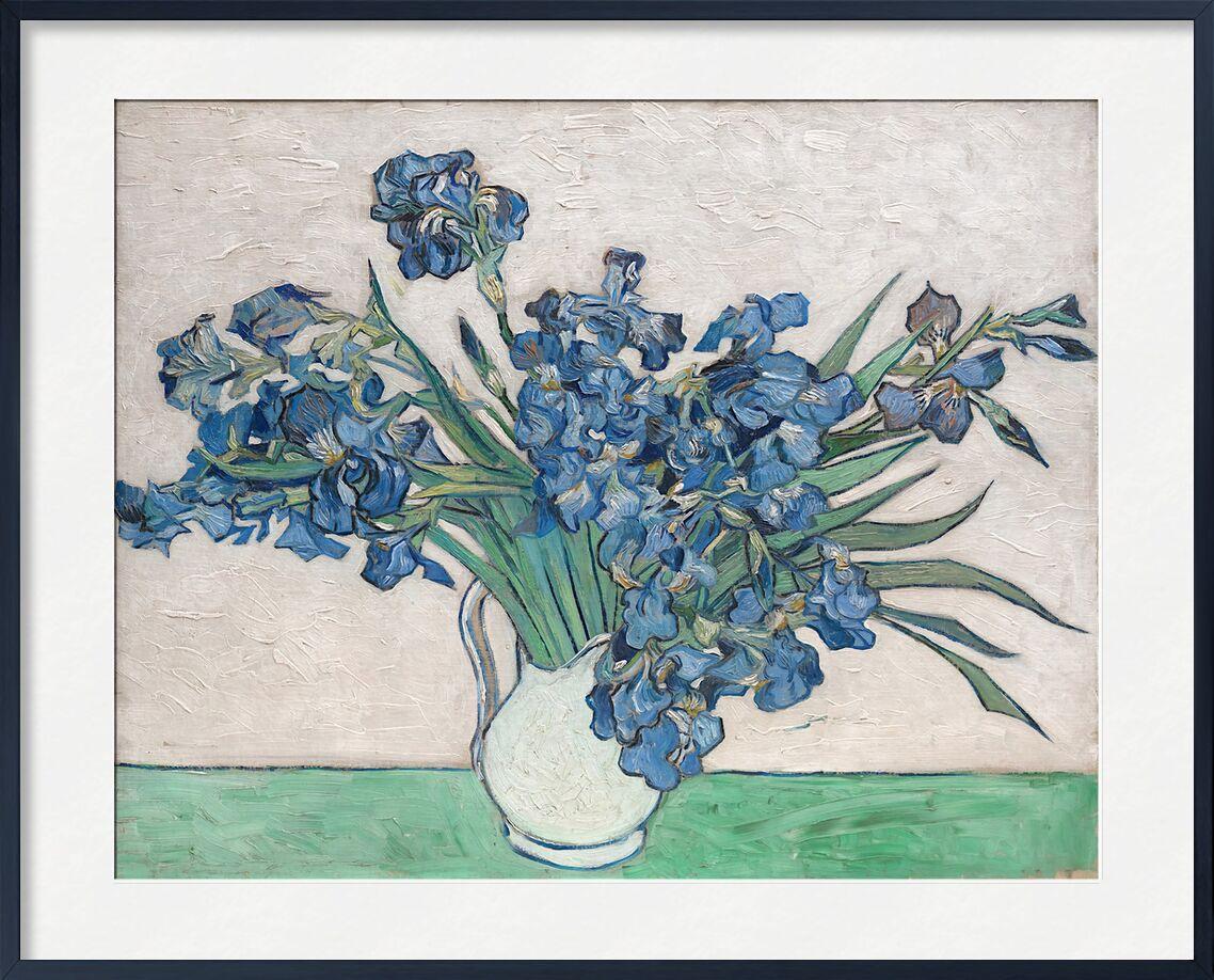 Irises Van Gogh Art Print Framed By Aux Beaux Arts