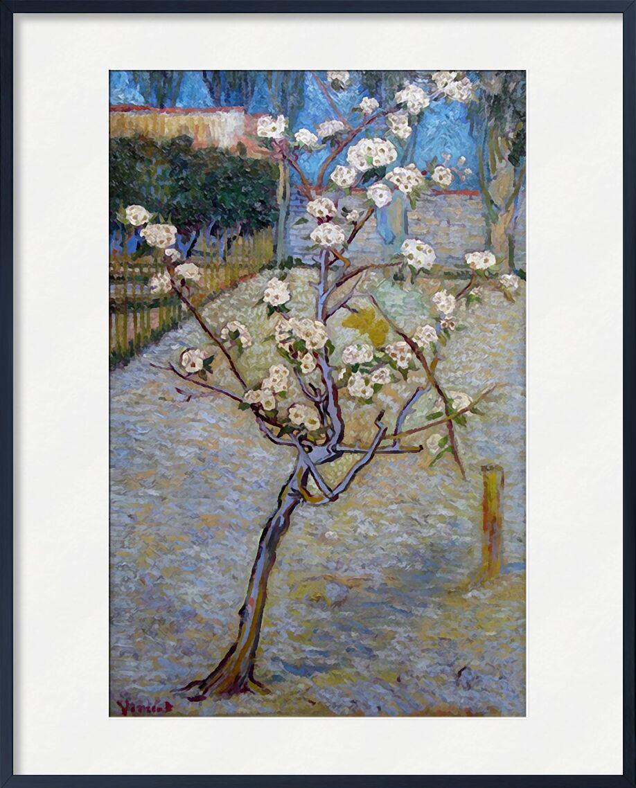 Peartree - Van Gogh from AUX BEAUX-ARTS, Prodi Art, Van gogh, tree, landscape, nature, Pear tree