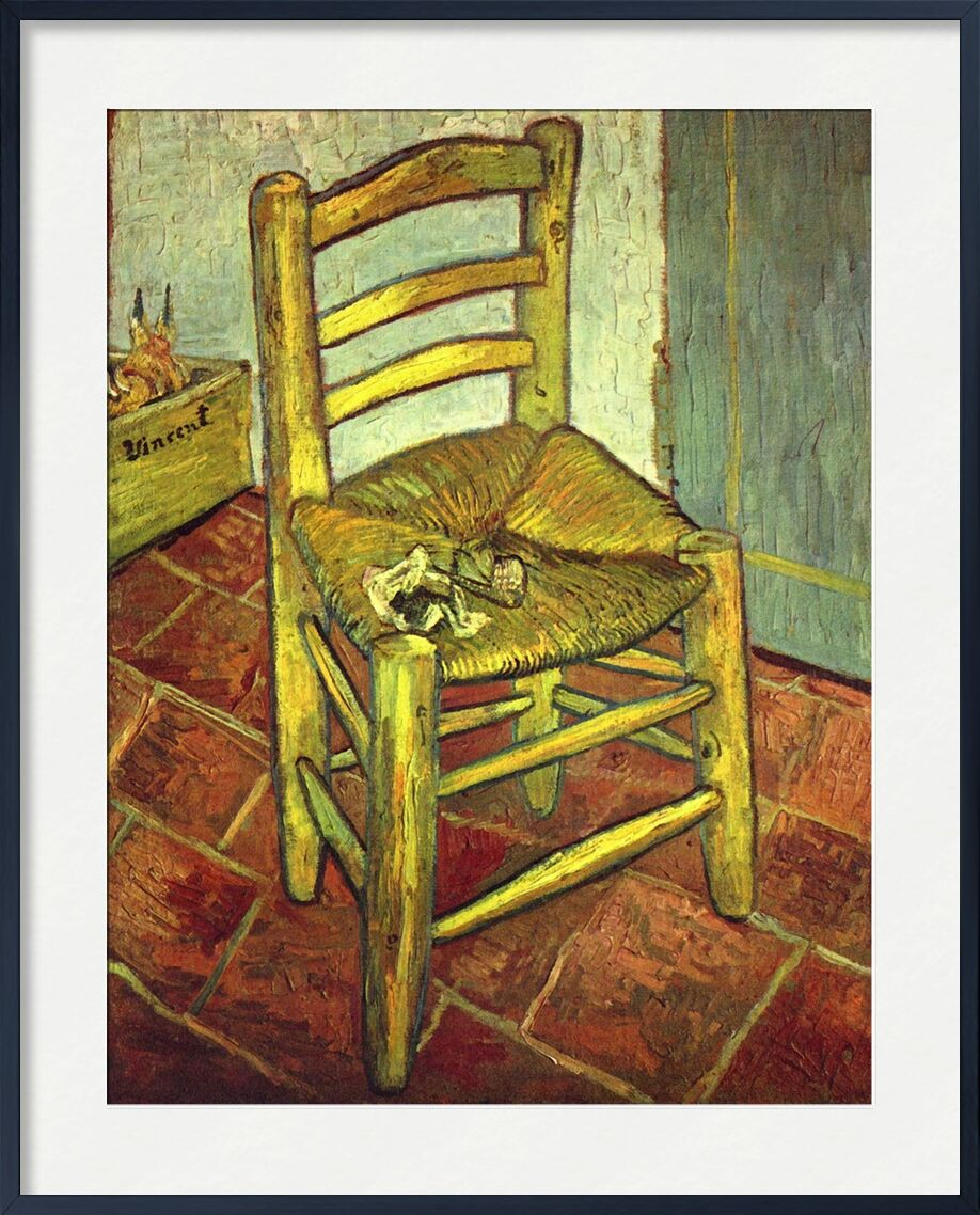 Chair - Van Gogh from AUX BEAUX-ARTS, Prodi Art, Van gogh, chair, painting