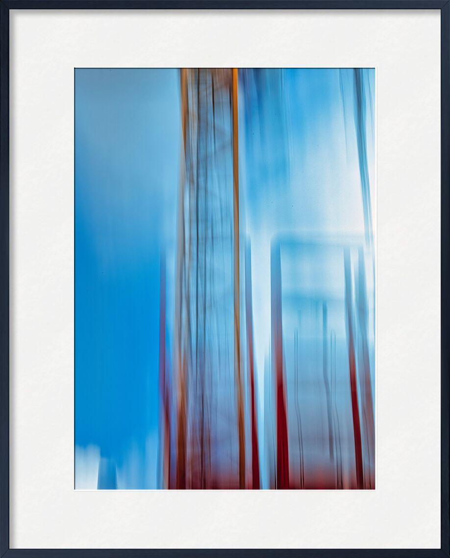La grue de Céline Pivoine Eyes, Prodi Art, paysage urbain, grue, industriel, abstrait, Photographie abstraite, Mouvement intentionnel de la caméra, ICM