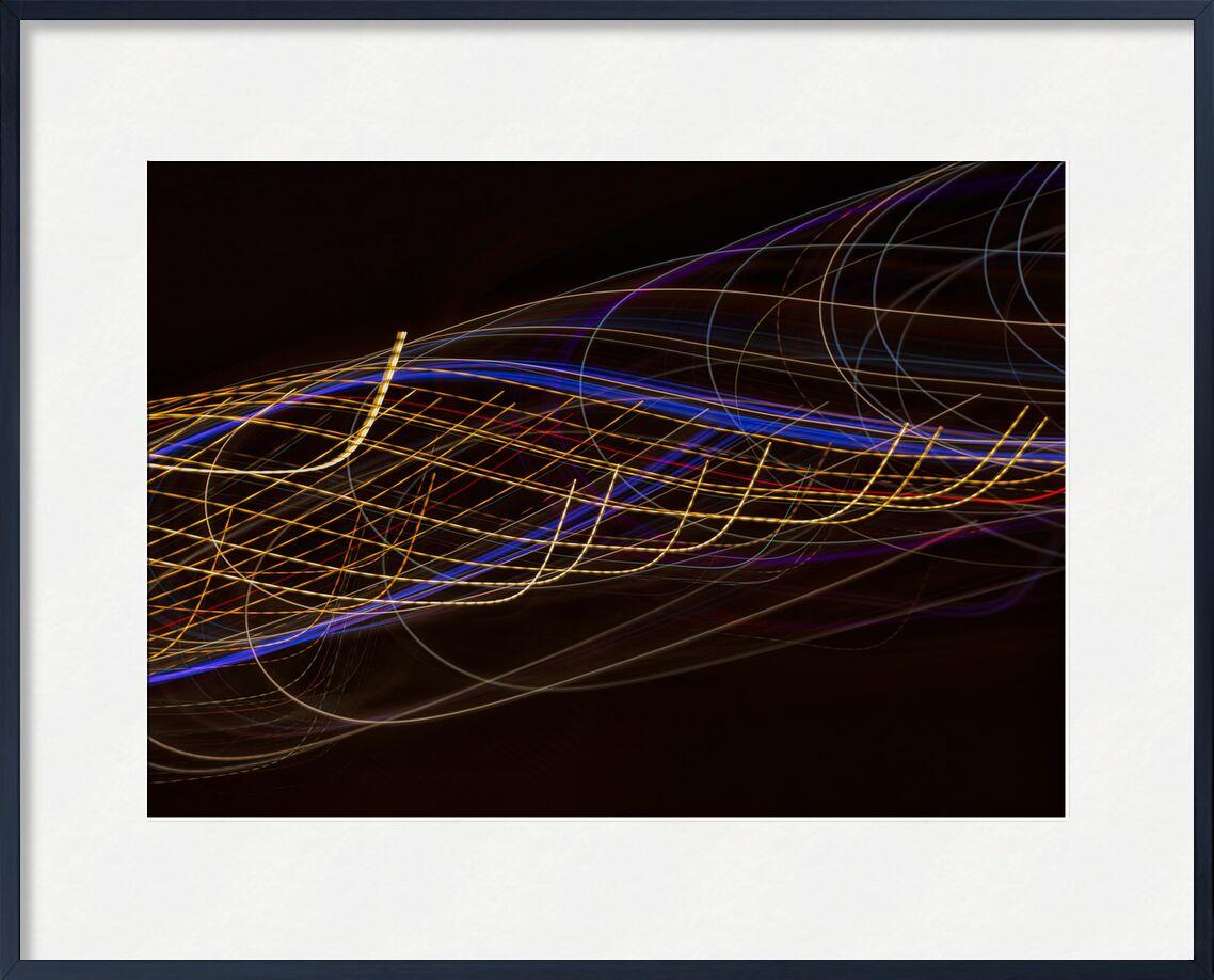 Les lumières en ville de Céline Pivoine Eyes, Prodi Art, ville, couleurs, lignes, peinture claire, lumières, Mouvement intentionnel de la caméra, ICM