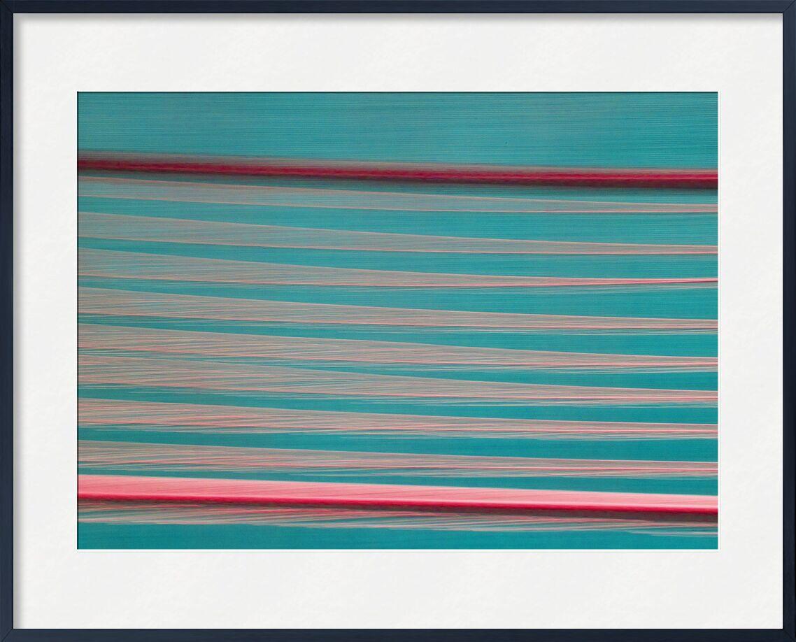 Les gouttes sur les fils de Céline Pivoine Eyes, Prodi Art, ICM, Mouvement intentionnel de la caméra, fils, lignes, rouge, vert, art abstrait, Photographie abstraite, flou artistique