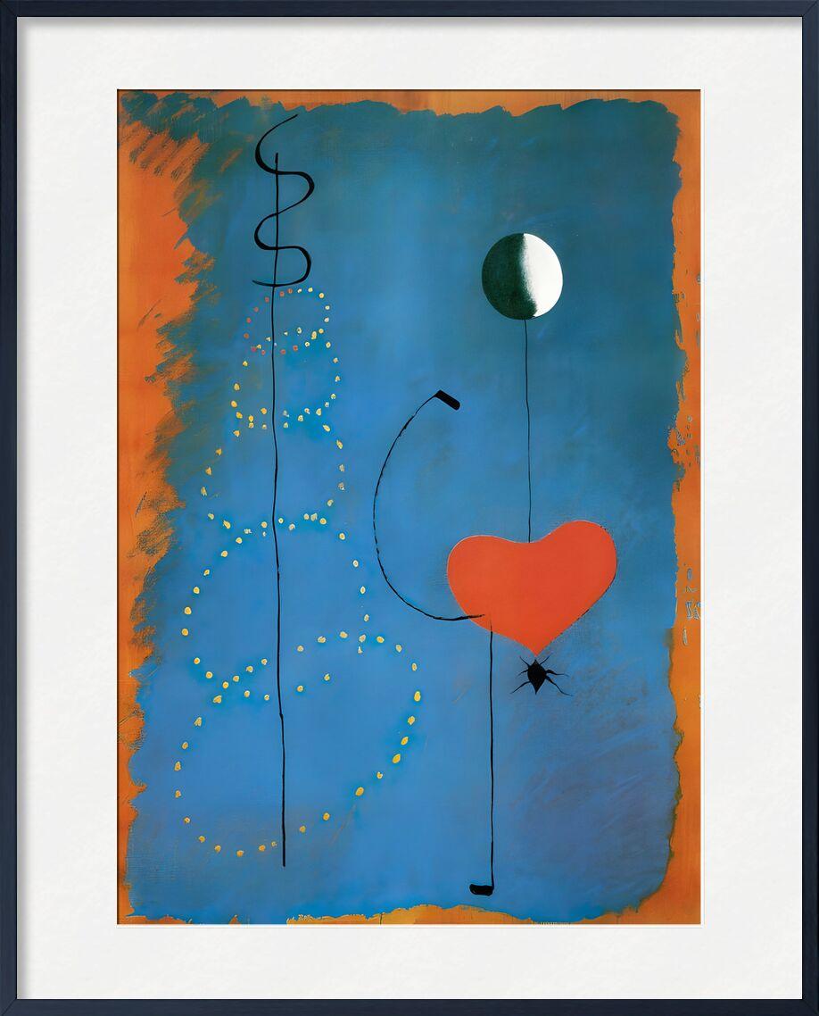 Ballerina - Joan Miró desde AUX BEAUX-ARTS, Prodi Art, bailarines, danza, canto, música, corazón, dibujo, Joan Miró