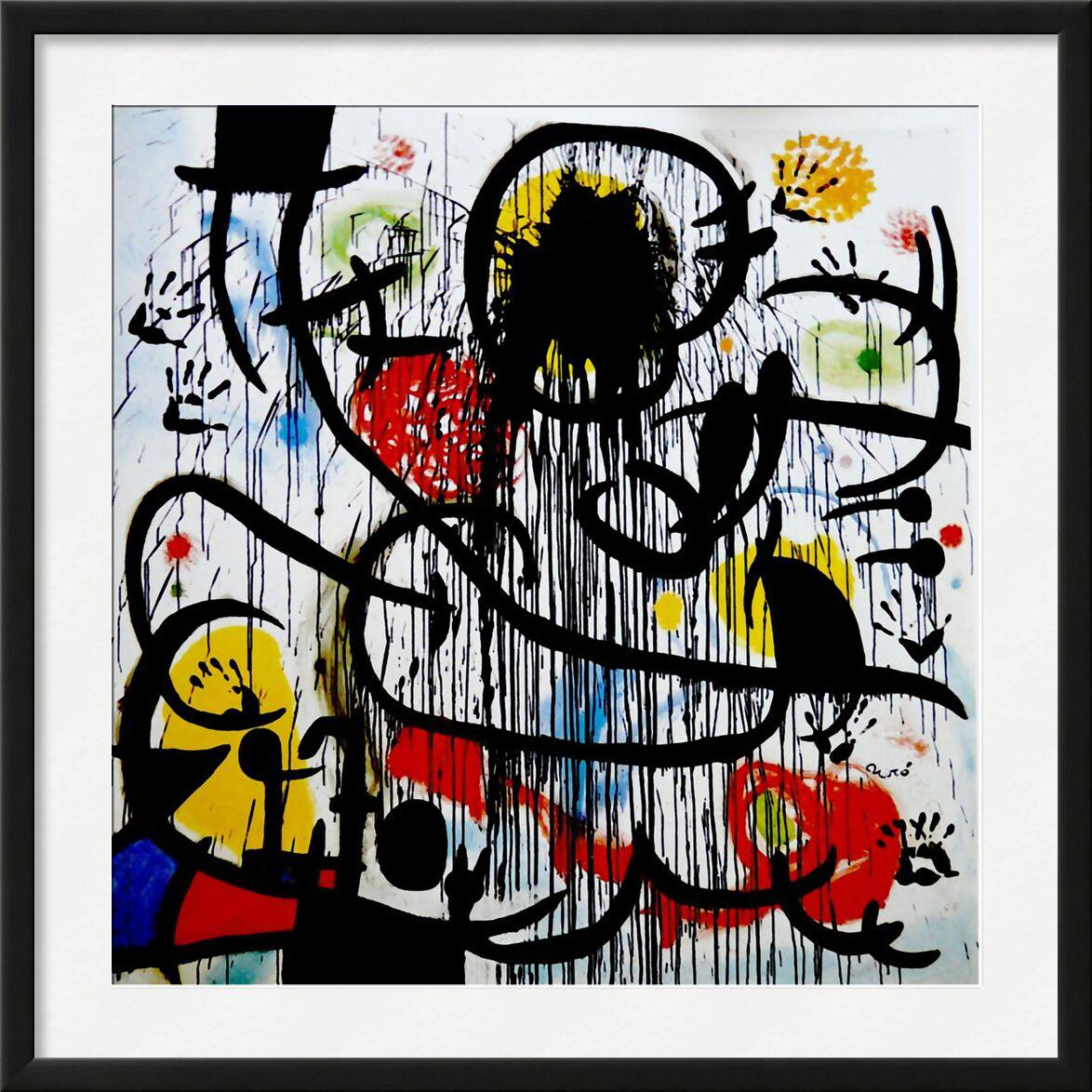 May, 1968 - Joan Miró von AUX BEAUX-ARTS, Prodi Art, mai 1968, Malerei, Zeichnung, Frankreich, Revolution, Joan Miró