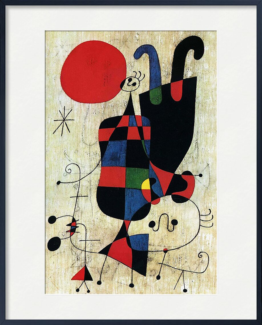 Inverted - Joan Miró from AUX BEAUX-ARTS, Prodi Art, Joan Miró, drawing, abstract, inverted