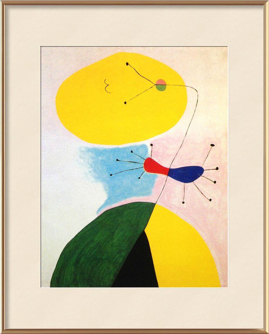 Portrait - Joan Miró de AUX BEAUX-ARTS, Prodi Art, Joan Miró, portrait, dessin, abstrait, couleurs