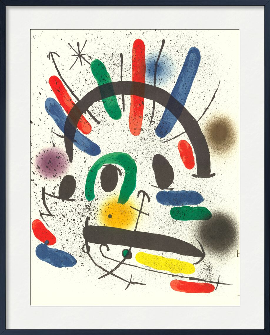 Litografia original II - Joan Miró from AUX BEAUX-ARTS, Prodi Art, Joan Miró, painting, abstract, lithography