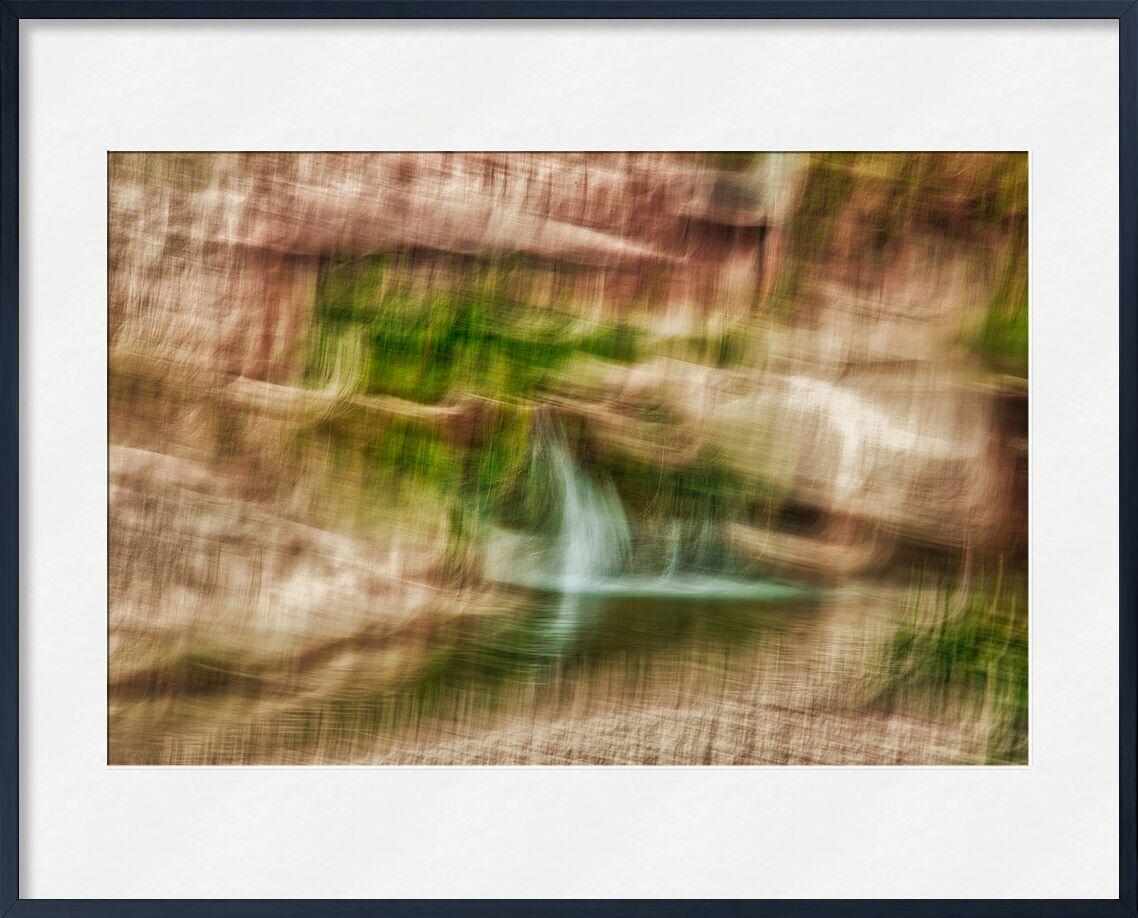Le rocher en ICM de Céline Pivoine Eyes, Prodi Art, pierre, marron, rocher, Voyage, paysage, nature, Photographie abstraite, art abstrait, flou artistique, Mouvement intentionnel de la caméra, ICM
