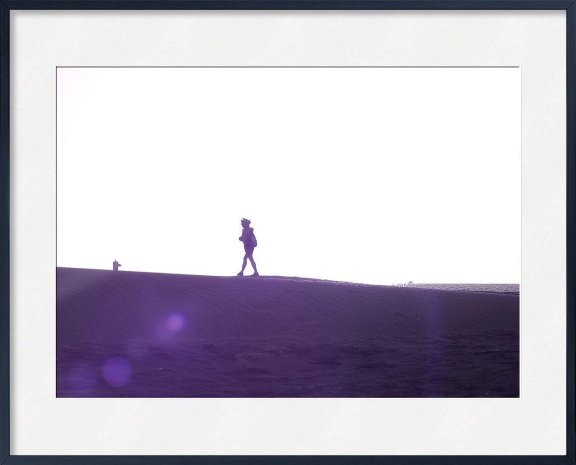 Promeneuse sur la dune de Céline Pivoine Eyes, Prodi Art, mer, sable, silhouette, gruissan, plage, Streetphoto, dune, Voyage, paysage