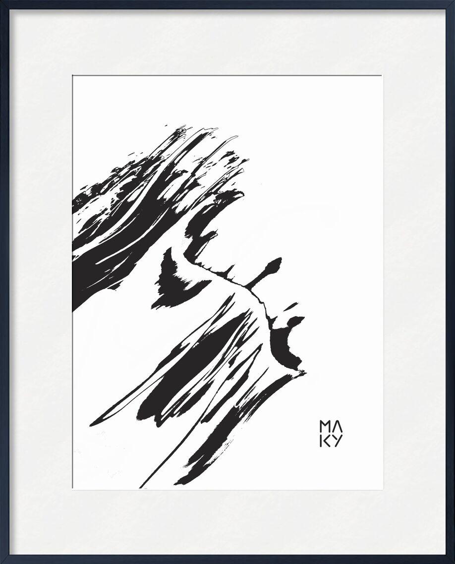 気5.3 from Maky Art, Prodi Art, texture, black-and-white, abstract, visual art