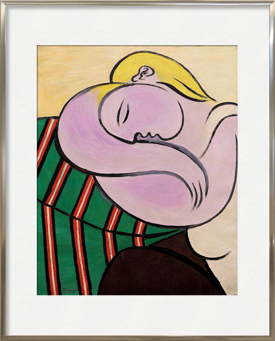 Femme aux Cheveux Jaunes de AUX BEAUX-ARTS, Prodi Art, femme, blonde, portrait, peinture, picasso