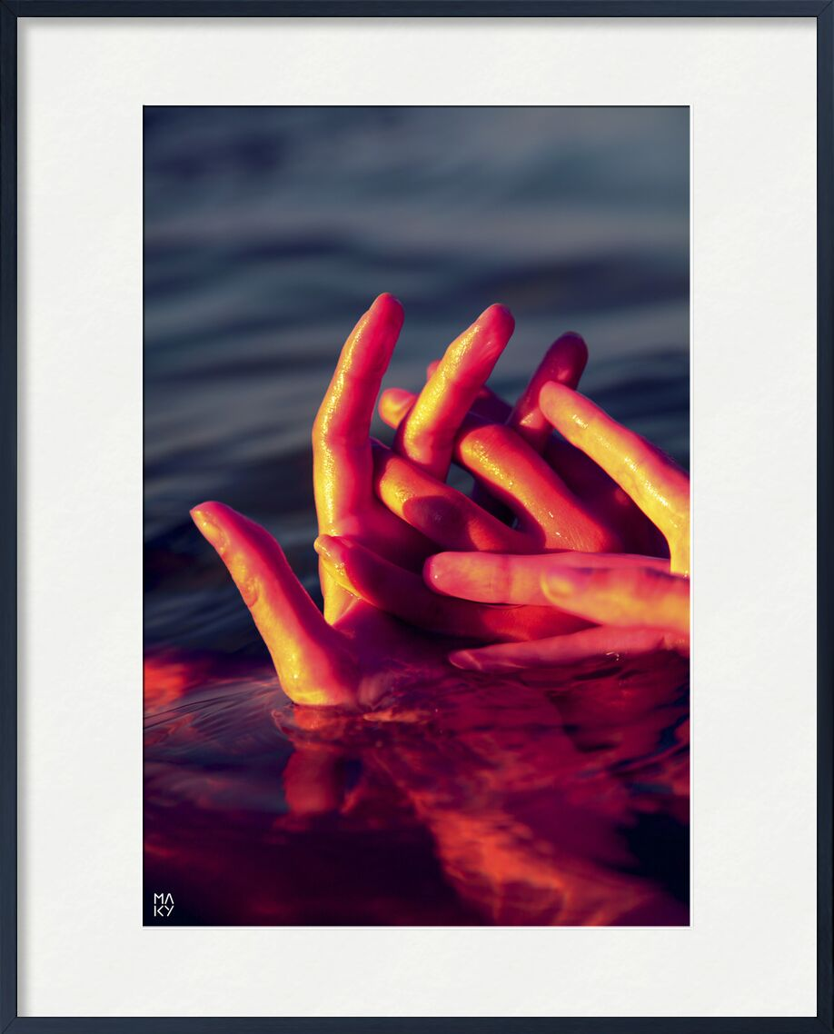 Intrication.6 from Maky Art, Prodi Art, water, hands, photography