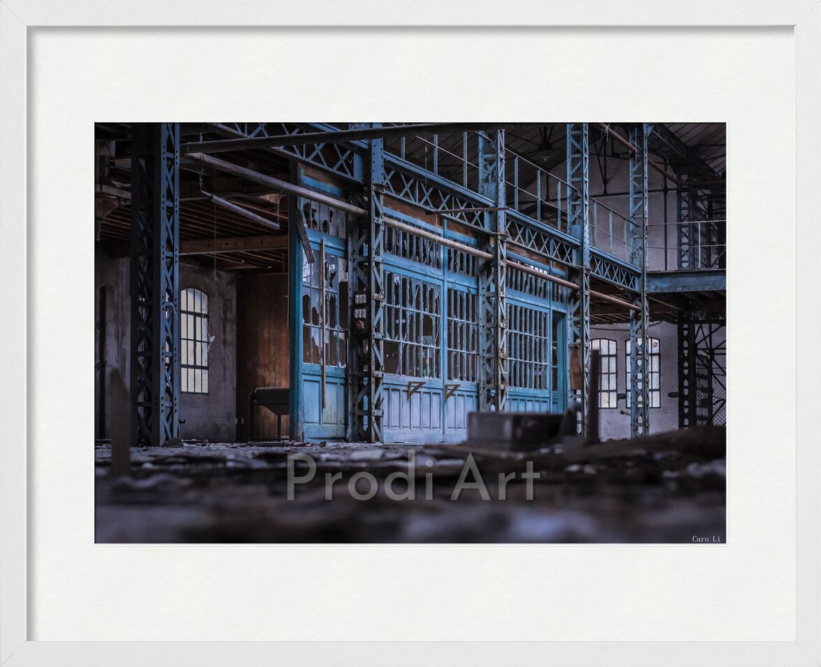 Abandoned de Caro Li, Prodi Art, usine, Urbex