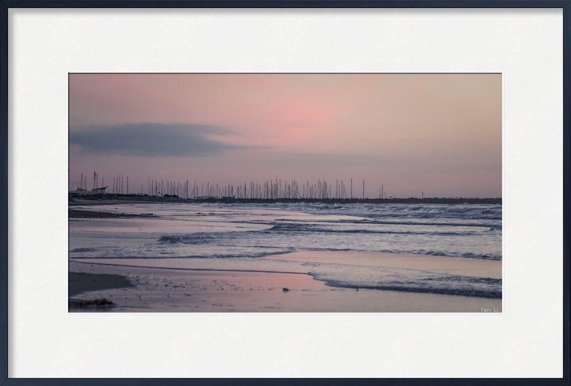Aurore de Caro Li, Prodi Art, Photographie, mer, paysage, aurore, levé de soleil, plage